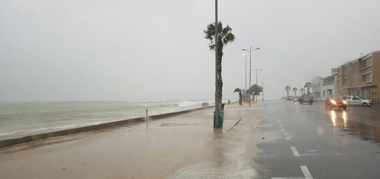 Informal settlement flooded after severe rain in Cape Town