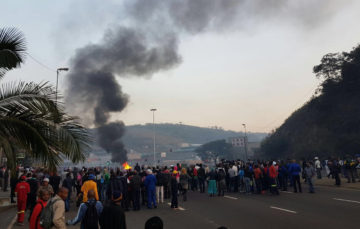Protesters wreak havoc in Tshwane