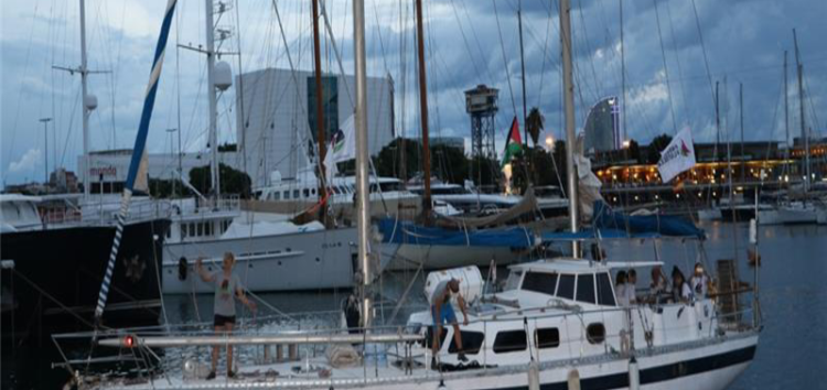 All-female flotilla aims to break Israeli siege of Gaza