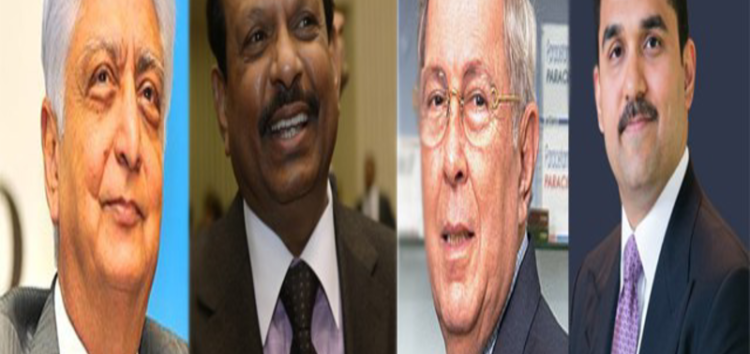 Four Muslims in the list of Forbes 100 Indian Billionaires-2016