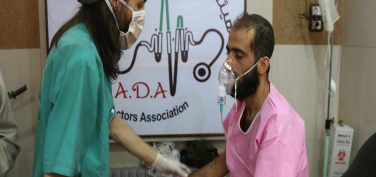 Syria's war: Chlorine gas attack on Aleppo alleged