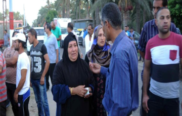 Scores drown after boat capsizes off Egypt's coast