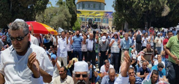 Israel cancels Gaza Worshipers' Friday visit to Al Aqsa for Peres funeral