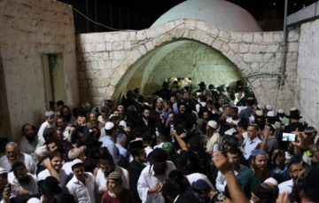 Clashes erupt as Israeli Settlers Desecrate Joseph Tomb in West Bank