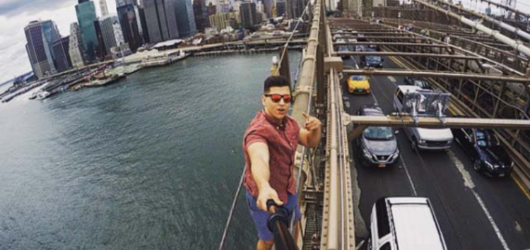 Looking for the right angle for that perfect selfie? Watch out!