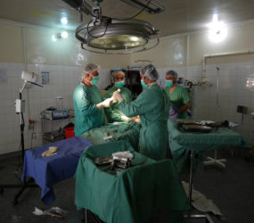 Inside a frontline hospital in Afghanistan