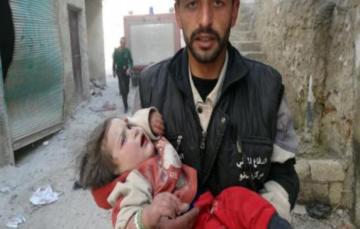 Aleppo's children are being buried under bombs