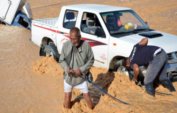 Deadly storms hit Egypt