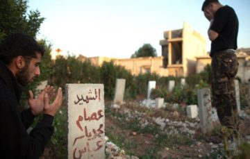 Syrian city runs out of space to bury the dead
