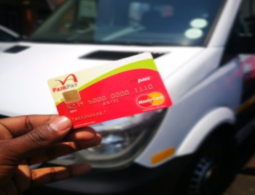 How Gauteng's cashless minibus taxi fare works