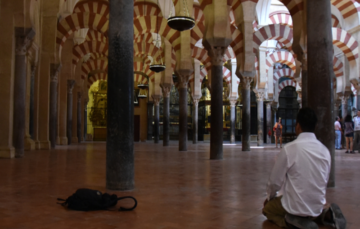 Police followed me around Cordoba's mosque. All I did was wear a hijab#Islamophobia