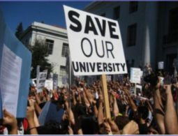 We Want Blade – Academics, Staff & Parents shout outside Parly
