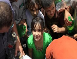Palestinian villages 'get two hours of water a week'