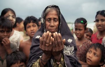Rohingya fleeing Myanmar turned back by Bangladesh