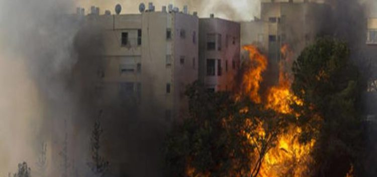 Haifa fires: Tens of thousands of Israelis flee city