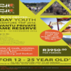 Kwantu Private Game Reserve - 5 day Youth adventure trip 2016