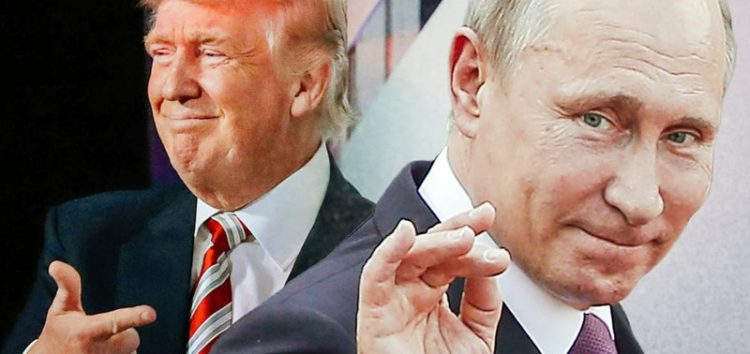 Vladimir Putin and Donald Trump discuss mending ties