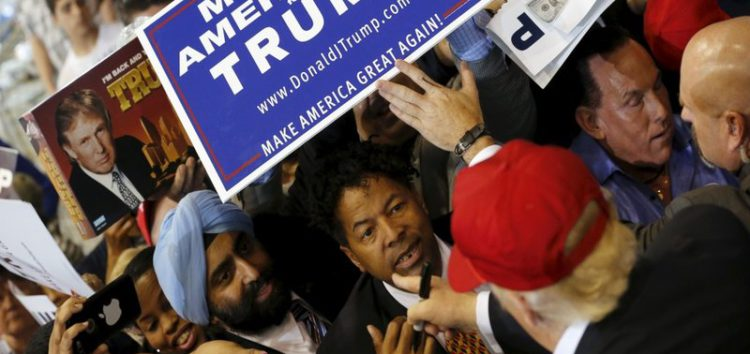 Some US Muslims support Trump?