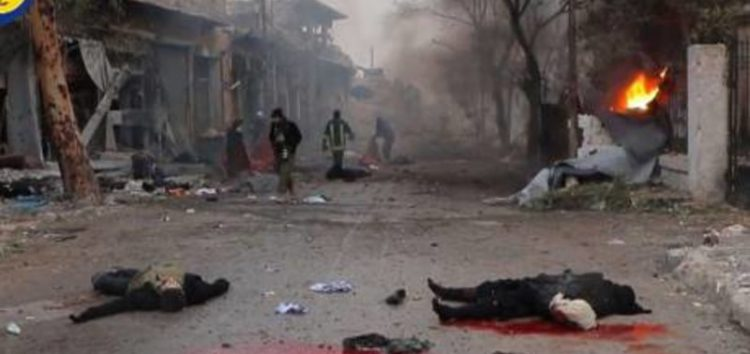 Bodies left strewn on streets of Aleppo