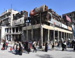 Aleppo locals say bombing goes on despite 'suspension'