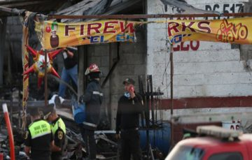 Mexico fireworks market blast kills at least 31