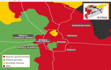 Government gains more ground in eastern Aleppo