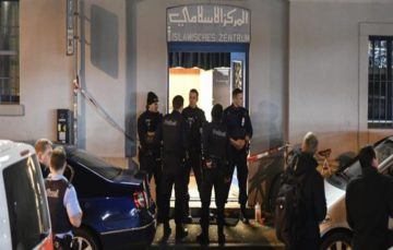 Three people hurt in shooting at Zurich Islamic centre