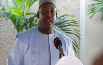 The Gambia's New President Adama Barrow removes 'islamic' from Gambias official name