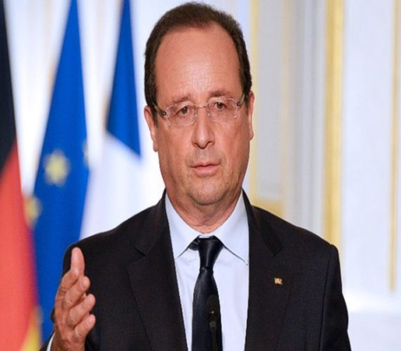 Francois Hollande: Two-state solution is the only way