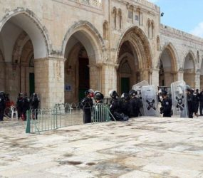 Israeli raids at Al-Aqsa Mosque increased by at least 250% last year