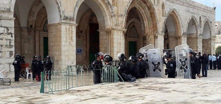 Israeli raids at Al-Aqsa Mosque increased by at least 250% last year