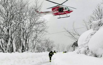 Survivor of Italy avalanche ate snow to stay hydrated during 58-hour ordeal