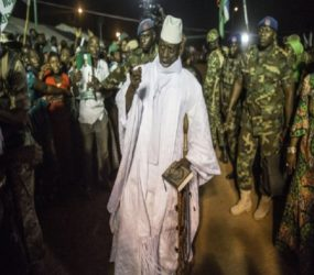 Citizens flee as Gambia's president declares state of emergency