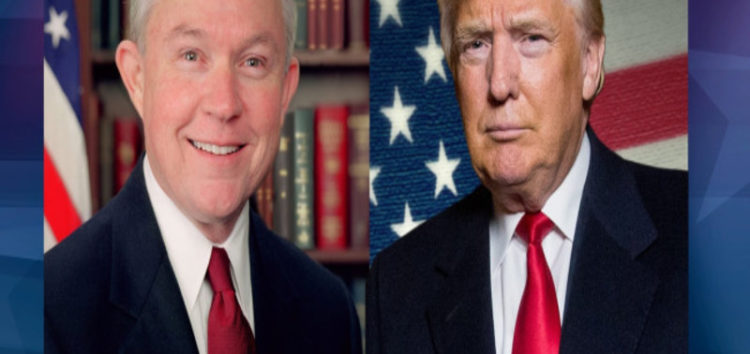 Trumps choice of attorney general objects to Muslim Ban