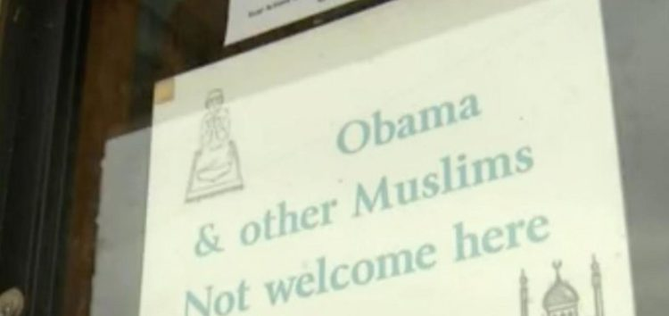 New Mexico Store Bans 'Obama & Other Muslims'