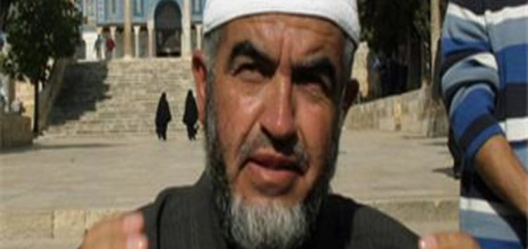 Sheikh Raed Salah released from Israeli prison