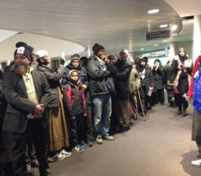 Muslims stage city hall protest over closed Scarborough community centre
