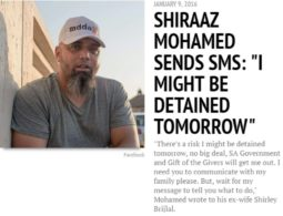Timeline: The kidnapping of Shiraaz Mohamed in Syria