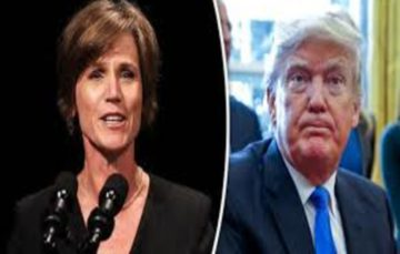 Drama as Trump Fires Acting Attorney General for Defying Order on Muslims