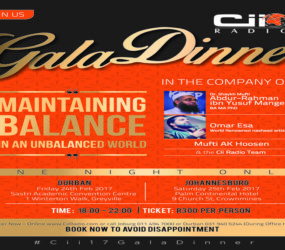 Tickets selling fast!! Purchase yours today #Cii17GalaDinner