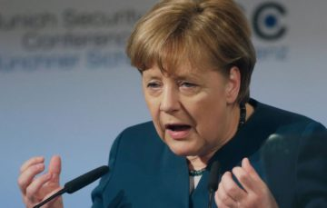 German chancellor Angela Merkel urges Muslim countries and Islamic scholars to speak up against fundamentalists