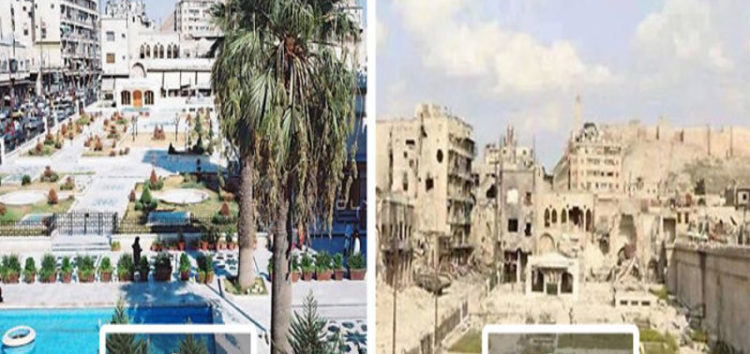 Syrian refugees reimagine their homeland
