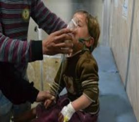 Syrian army 'used chemical bombs in co-ordinated Aleppo assault'#SyriaWar