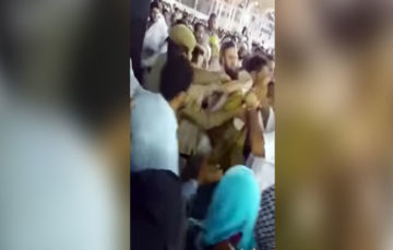So what exactly happened yesterday near the kaaba?