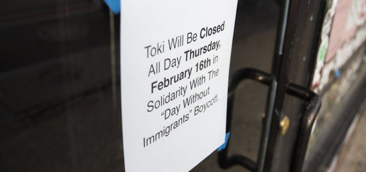 Immigrants across the US skip work, school in anti-Trump protest