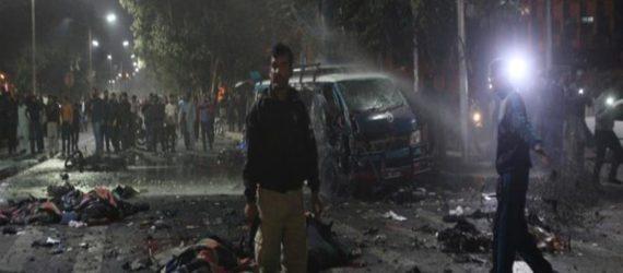 Pakistan: Deadly bomb blast rips through Lahore rally, killing 13 people