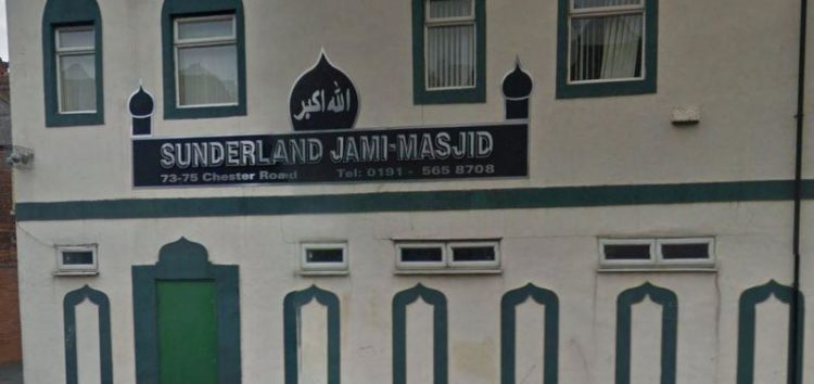 'Muslims out' scrawled on Wall of Sunderland mosque