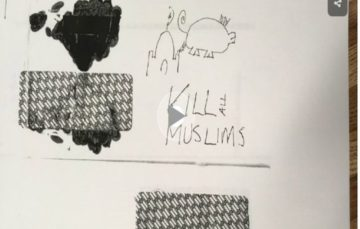 Va. Mosque receives threatening note that reads 'kill all Muslims'