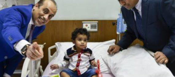 Close encounter as Toddler swallows battery, suffers internal burns