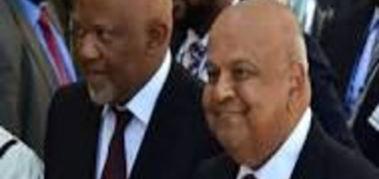 Presidency halts Gordhan, Jonas international roadshow, both instructed to return to SA urgently